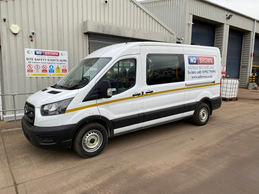 Welfare van added to HGV Hire vehicles